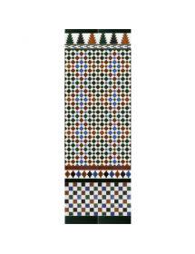 Mosaïque arabe couleurs MZ-M001-00