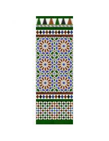 Mosaïque arabe couleurs MZ-M040-00