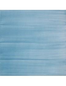 Azulejo pincelado celeste 15x15