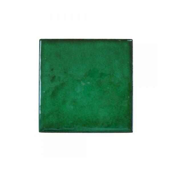 Azulejo artesano verde tinta pasaje hispalcer mica - Azulejo 15x15 blanco ...