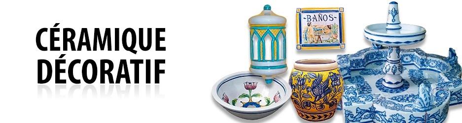 Céramique décoratif