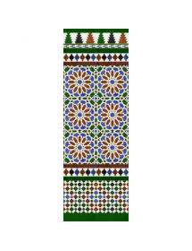 Arabischen farbigen mosaiken MZ-M040-00
