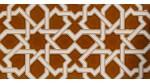 Azulejo Árabe relieve MZ-006-31
