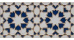 Azulejo Árabe relieve MZ-007-14