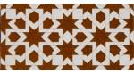 Faïence arabe relief MZ-013-31