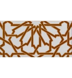 Azulejo Árabe relieve MZ-040-13