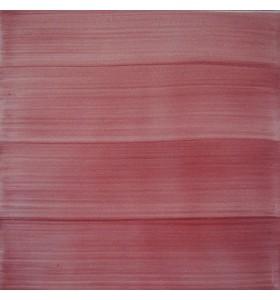 Azulejo pincelado burdeos 15x15