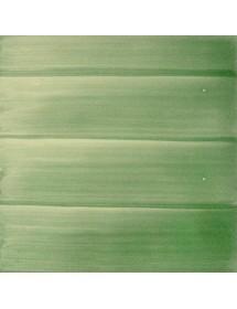 Azulejo pincelado verde carruaje 15x15