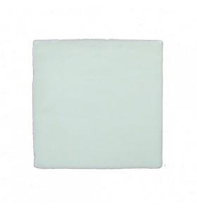 Faïence blanche cristalline 9,8x9,8