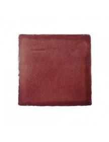 Crystalline burgundy tile