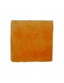 Crystalline orange tile
