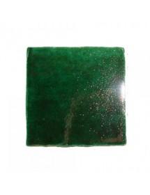 Crystalline green tile