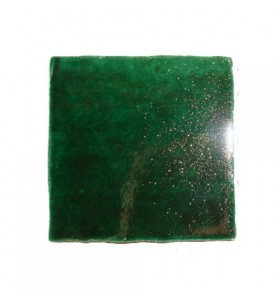 Faïence vert cristalline