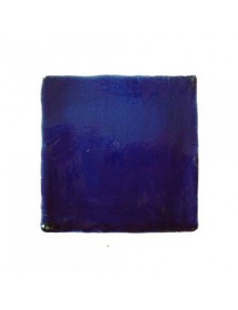 Crystalline blue tile