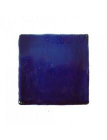 Faïence bleu cristalline