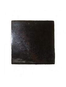 Faïence noir cristalline