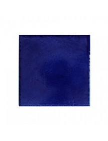 Handmade blue tile