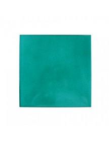 Handmade turquoise tile