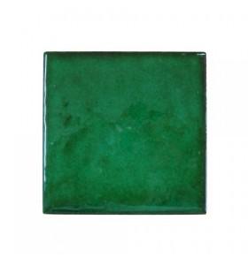 Faïence vert encre artisan
