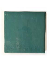 Azulejo artesano verde pastel