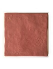 Azulejo artesano rosa pastel