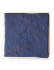Azulejo artesano azul pastel