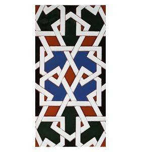 Azulejo Árabe relieve MZ-070-00
