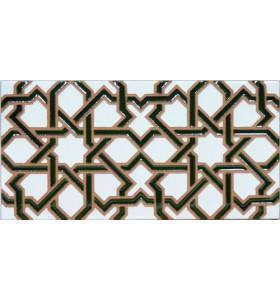 Azulejo Árabe relieve MZ-006-12