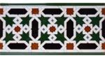 Faïence arabe relief MZ-015-00