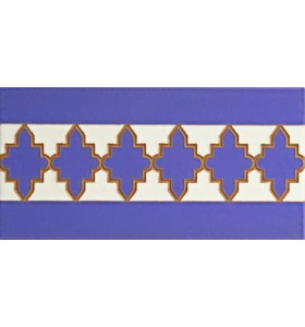 Faïence arabe relief MZ-004-41