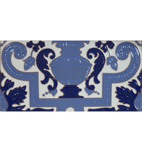 Azulejo Sevillano relieve MZ-053-441B