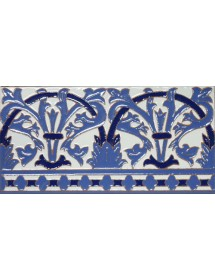 Azulejo Sevillano relieve MZ-042-441