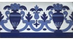 Azulejo Sevillano relieve MZ-027-441