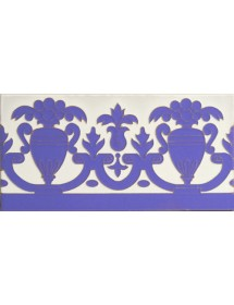 Sevillian relief tile MZ-027-41