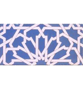 Azulejo Árabe relieve MZ-040-41