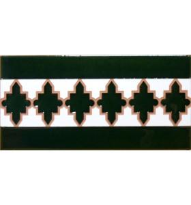 Faïence arabe relief MZ-004-21