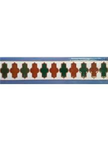 Azulejo Árabe relieve MZ-018-00