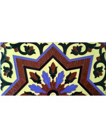 Sevillian relief tile MZ-038-03