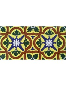 Azulejo Sevillano relieve MZ-031-03