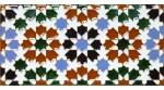 Faïence arabe relief MZ-010-00
