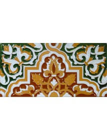 Azulejo Sevillano relieve MZ-032-01