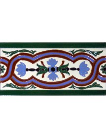 Sevillian relief tile MZ-056-00