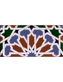 Faïence arabe relief MZ-040-00