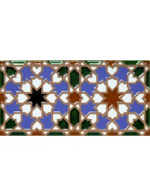 Faïence arabe relief MZ-007-00