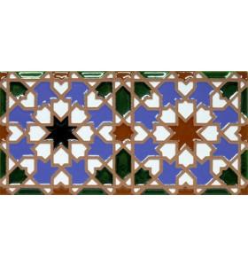 Faïence arabe relief MZ-007-00
