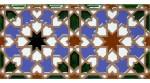 Relief Arabian tile MZ-007-00