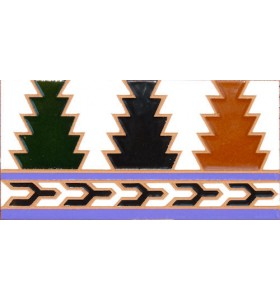 Faïence arabe relief MZ-005-00