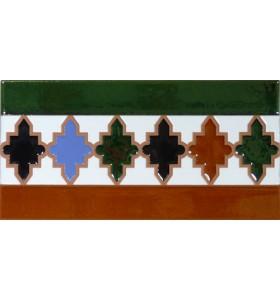 Faïence arabe relief MZ-004-00