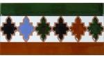 Azulejo Árabe relieve MZ-004-00