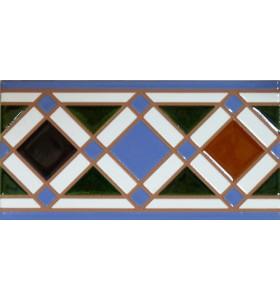 Azulejo Árabe relieve MZ-009-00